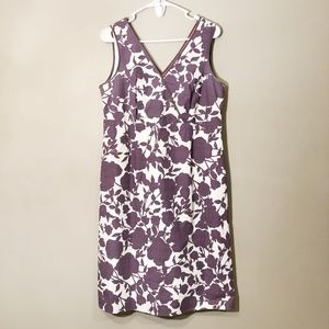 Boden | Floral Sleeveless Midi Dress Sz 10